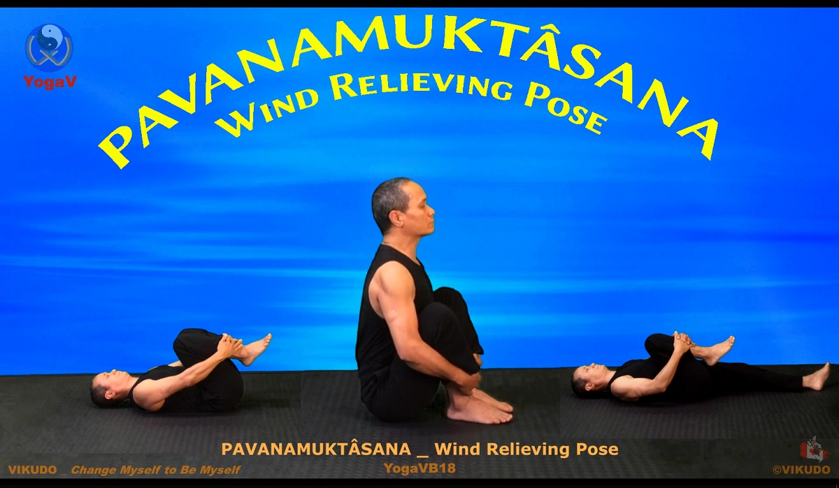 yoga vikudo, vikudo, yogav, Wind Relieving Pose