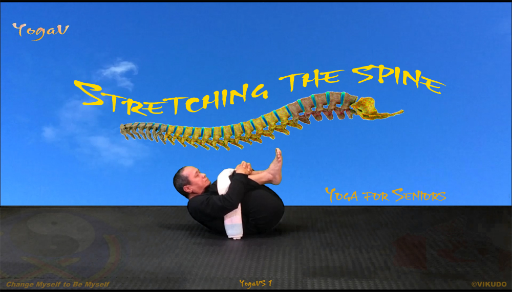 Stretching-the-spine, Yoga vikudo