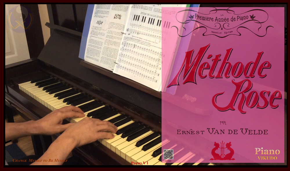 Methode Rose _ Piano VIKUDO