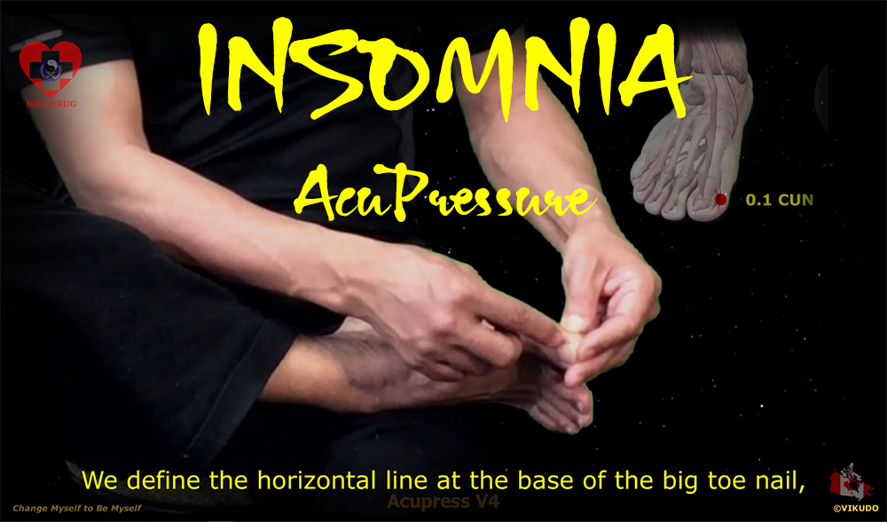 Acupress V4 _ Prevent and treat insomnia by Stress with Acupressure